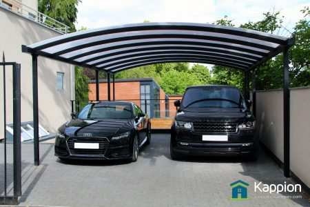 Contemporary 2 Carport