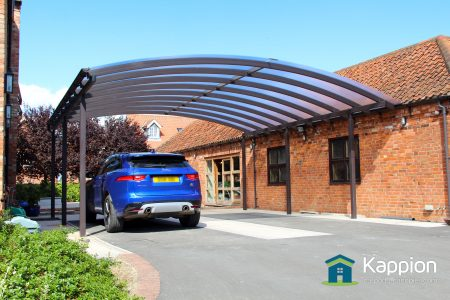 Ultra Wide Carport